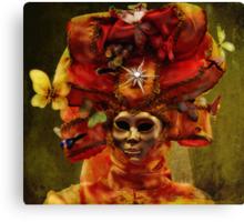 Venetian Carnival masquerade Canvas Print