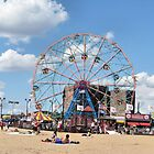 Wonder Wheel at Coney Island NYC by kaine23