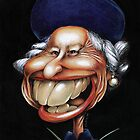 Queen Elizabeth caricature by kiko