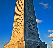 Monument to Wilbur and Orville Wright by michael6076