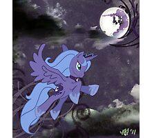 Lonely Luna Photographic Print