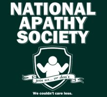 National Apathy Society by AngryMongo