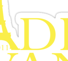 Cadel Evans - 2011 Sticker