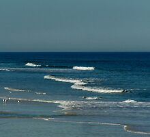 Ocean off St. Augustine Beach, Florida by Eileen Brymer