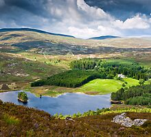 Loch Gynack, Scottish Highlands by David Lewins