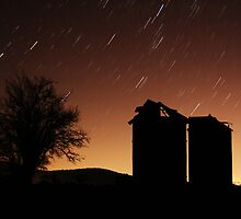 Paddock Star Trails by 3leafpete