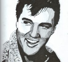 Elvis Presley by WienArtist
