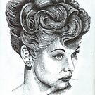 Lucille Ball by WienArtist