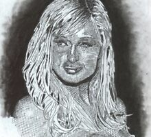 Paris Hilton by WienArtist