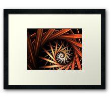 Torrent Abstract Fractal Art Framed Print