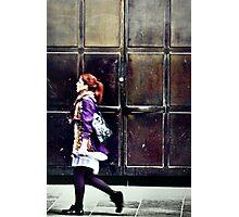 Purple Stockings... Photographic Print