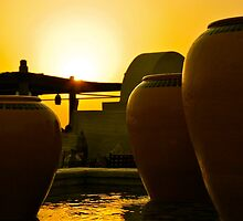 Sunset #1 - Bab Al Shams Hotel Dubai by Nick Rocco