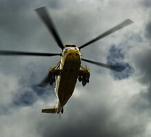 RAF rescue helicopter by KWTImages