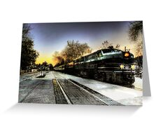 Mystery Train  Greeting Card