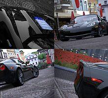 GT5 Corvette ZR1 collage by MattMcilwhan