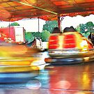 Dodgems at the Lindfield Fun-fair #5 by Matthew Floyd