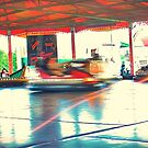 Dodgems at the Lindfield Fun-fair #1 by Matthew Floyd