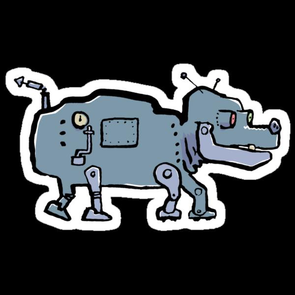 robot dog by greendeer