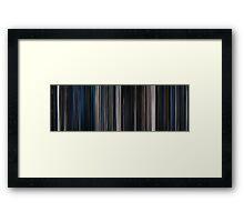 Moviebarcode: Alien (1979) Framed Print