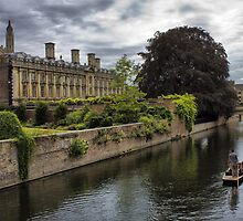 The Backs, Clare and Kings College Cambridge by Darren Burroughs