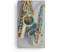 Saxy Trio Canvas Print