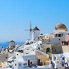 Oia Village 3, Santorini, Greece by inglesina