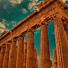 Greece. Athens. Acropolis. Parthenon. by vadim19