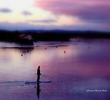 Evening paddler by Charmiene Maxwell-batten