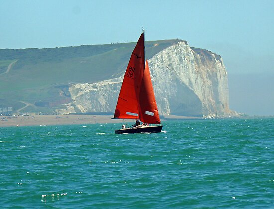 Seaford Sailing by mikebov