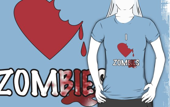 I Heart Zombies by Anthony Pipitone