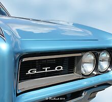 1968 Pontiac GTO - Beauty And Brawn by Betty Northcutt