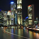 Marina Bay-Singapore by Christian Eccleston