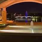 Bond University under the arch by Gavin Lardner