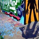 Amsterdam graffiti by Mark Smart