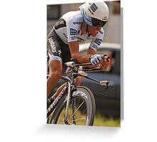 Albeto Contador Greeting Card