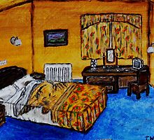 Hotel Room by Tricia Winwood