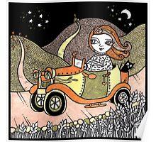 Mandys Moonlit Drive Poster