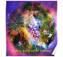 Wishing you a stellar birthday! Poster