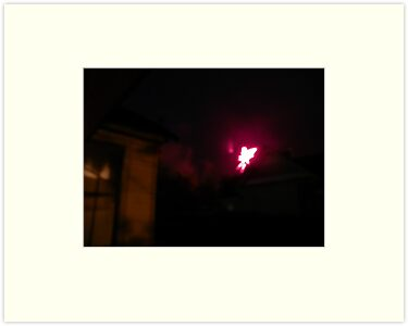 Angel Appears in Fireworks - Gadsden, AL by ArtistJD