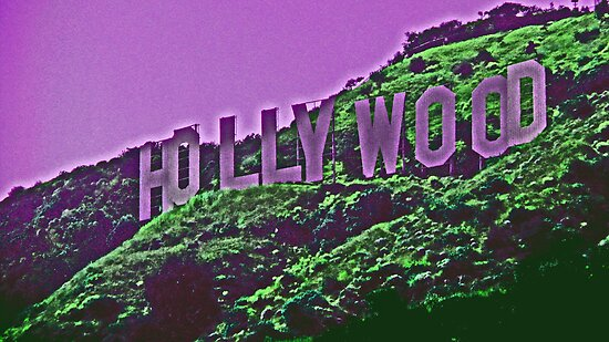 Hollywood, with a little lavender---- by michael6076