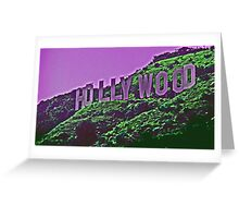 Hollywood, with a little lavender---- Greeting Card