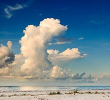 Morning Clouds Over the Gulf by Greg Riegler