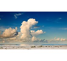 Morning Clouds Over the Gulf Photographic Print