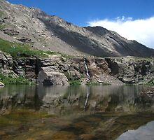 Willow Creek Lake Reflections by Bill Hendricks