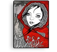 Pic de Rosu Canvas Print