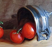 Tomatoes and Old Silver by suzannem73