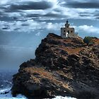 Light House on the Greek Island of Paros. by Mariano57