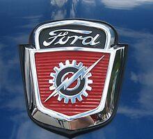 65 Ford F-100 Truck Hoodie by Debbie Robbins