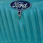 35 Ford Pickup Side Fender by Debbie Robbins