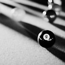 Eight Ball, Corner Pocket by laruecherie